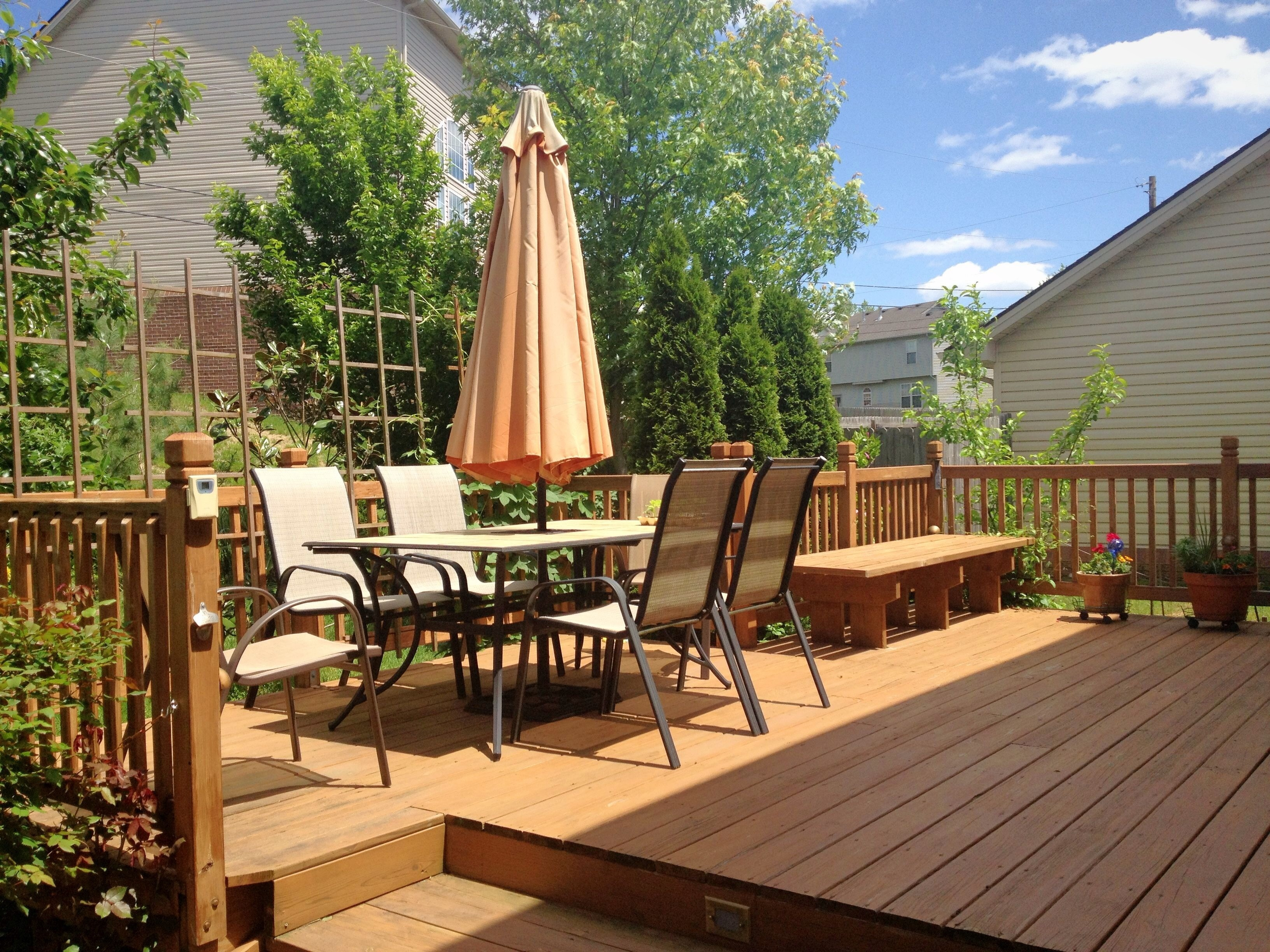 Aménagement Terrasse Bois Etage Custom Decks Vision Landscape Design And Build