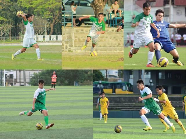 From top left, clockwise: Matthew Nierras, Rigo Joseph, Inigo Gonzales, Nathan Alquiros, and Greggy Yang. Not in photo: Tonichi Bonoan