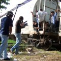 Juan Manuel Seplveda filming. Photo courtesy Juan Manuel Seplveda