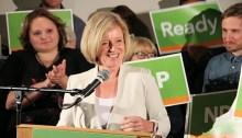 Alberta NDP leader Rachel Notley. | Photo by Dave Cournoyer