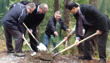 Tree planting is something B.C. already does a lot of, so it's really a cop out for Clark to emphasize it in her climate plan. | Photo courtesy of the Province of British Columbia