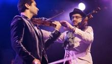 Eric et Olivier Slabiak sur scène. | Photo DR