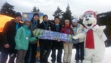 L'équipe gagnante de l'édition 2014 qui s'est déroulée à Mount Seymour.  | Photo de Canadian Cancer Society