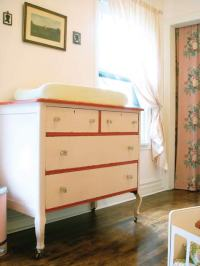 vintage changing table | thelassens