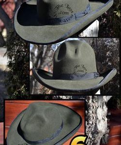 6 Shooter Custom Dress Hat