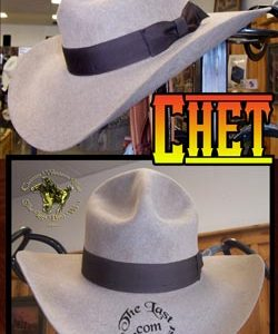 Chet Custom Handmade Hat