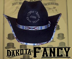 Dakota Fancy Custom Handmade Hat