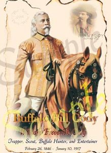 Buffalo Bill Cody Poster