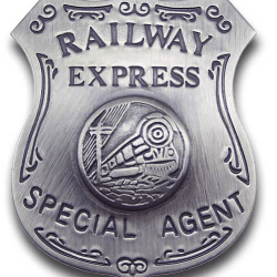old west agent badges Railway Express Special Agent Badge buy three old west badges
