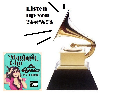 margaret cho, grammys, the grammys, the 55th grammy awards, comedy, standup , funny, CBS