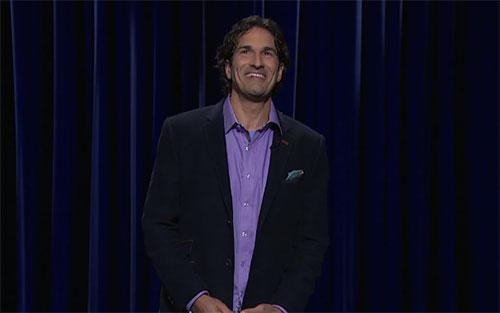 "Gary Gulman on Late Night with Seth Meyers, ""I think Christianity is the most successful spinoff in entertainment history"""