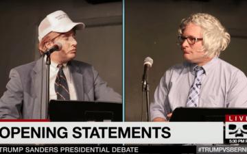 Trump vs Bernie
