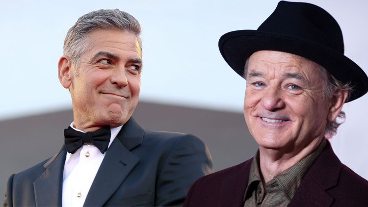 How Bill Murray plays it when he visits George Clooney in Italy