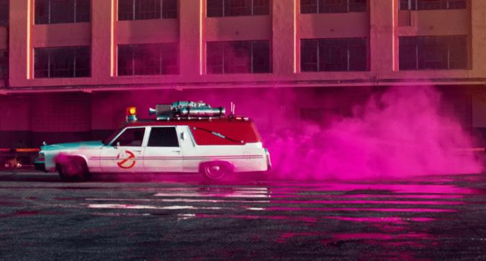 Ghostbusters Lyft