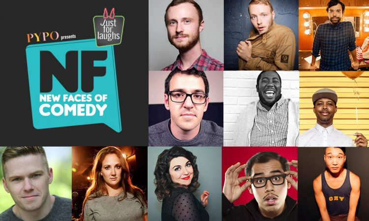 "Your Just For Laughs ""New Faces of Comedy"" Class of 2016"