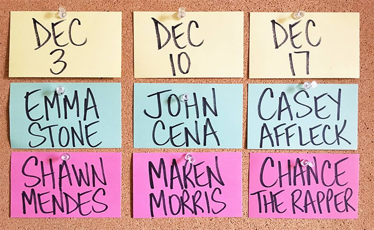 """Saturday Night Live"" announces final hosts of 2016 including Jon Cena and Casey Affleck"