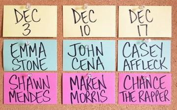 SNL December