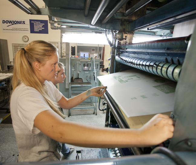 Women in command of their printing press thelawlers