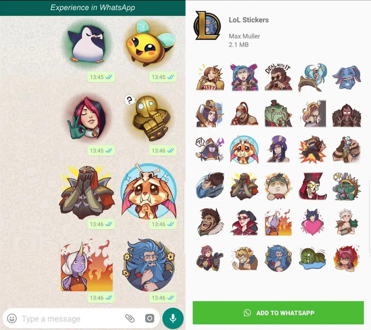 Stickers In Whatsapp 32 Amazing Whatsapp Stickers Pack You Should Check Out