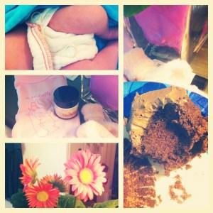 postpartum collage