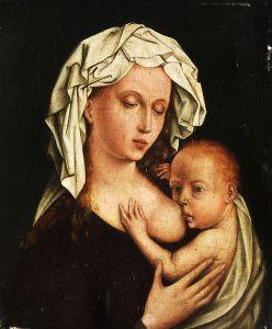 Maria lactans 17th century Antwerp