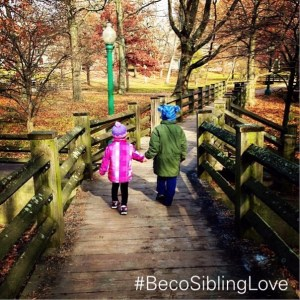 #BecoSiblingLove hand holding walk copy