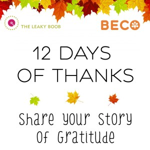 Beco 12 days of thanks