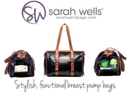 Sarah Wells Maddy Breast Pump Bag