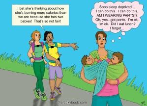 Babywearing activity