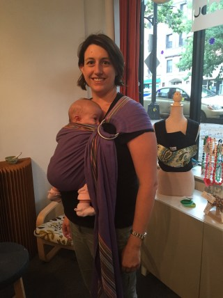 Catbird babywearing safety with TLBsafeKids