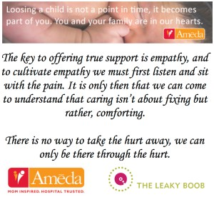 Infant and pregnancy loss awareness and support with Ameda