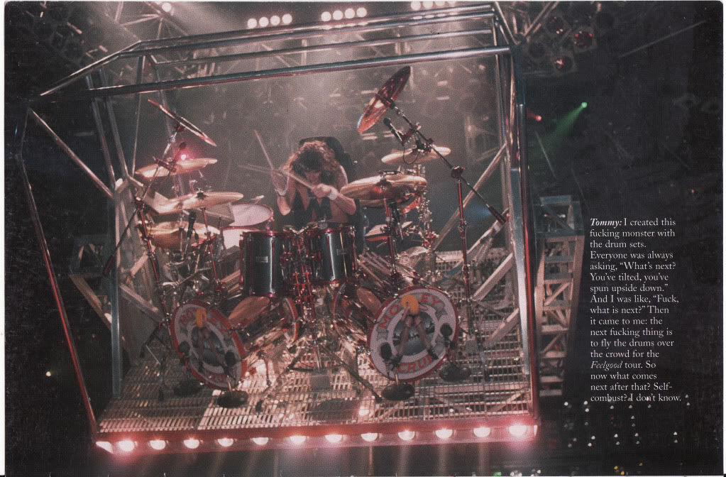 Tommy Lee Playing Drums