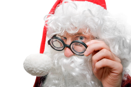 Santa Looking Closer