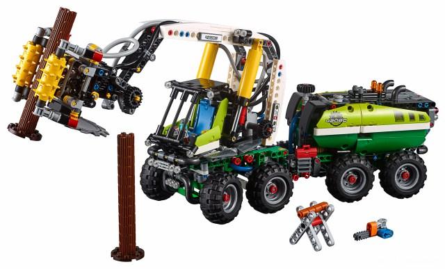 Lego Technic 42080 Forester THE LEGO CAR BLOG