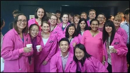 Her team at the Sydney lab