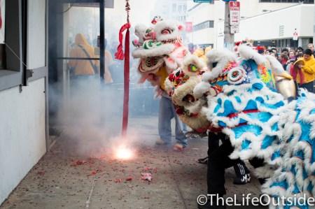 firecrackers exploding chinese new year philadelphia