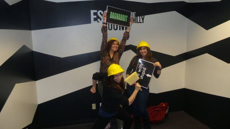 My escape the room team