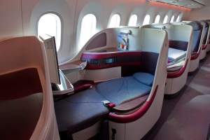 Qatar Airways Super Business Class