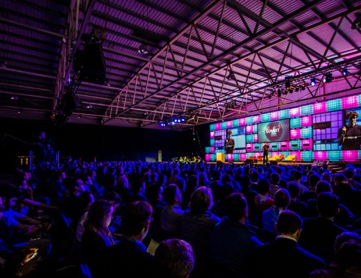 Web Summit in Dublin Irelands