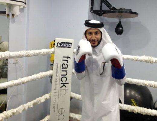 Fahad Khalid Al Thani Qata's first professional boxer