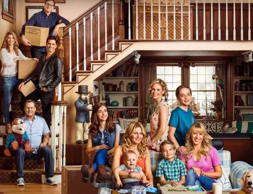 Full house returns on Netflix with an even Fuller House