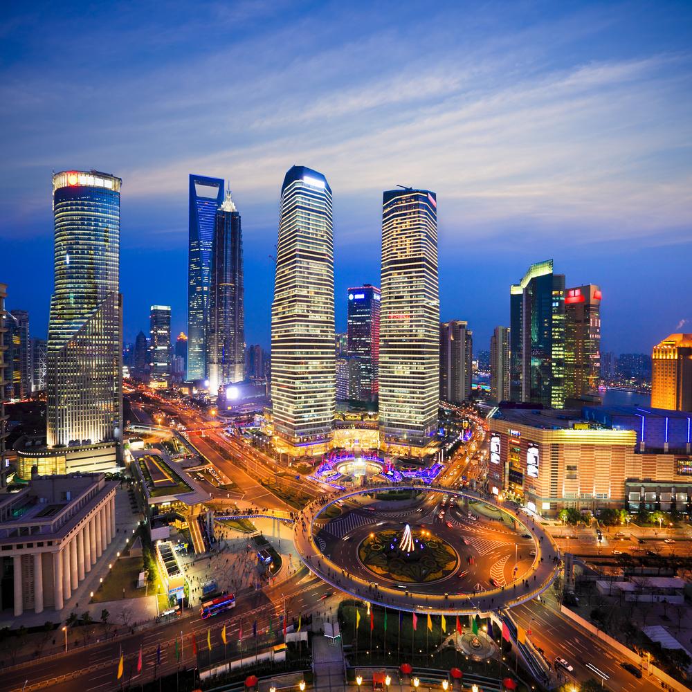 Shanghai skyline - China changing the world