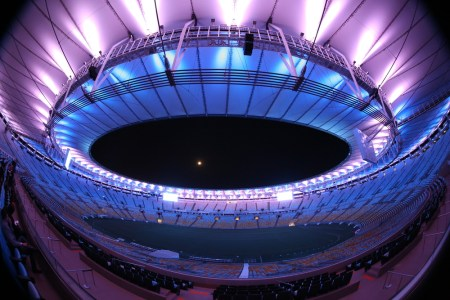 The Maracanã Stadium in Rio De Janeiro, Brazil, where the Rio 2016 Olympicw will be held