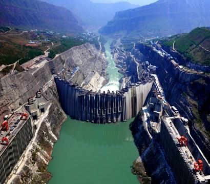 Xiluodo Dam - China changing the world
