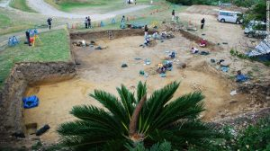 a-team-of-archeologist-excavate-the-kasturen-castle-site-where-the-ancient-roman-coins-were-found-urama-board-of-education