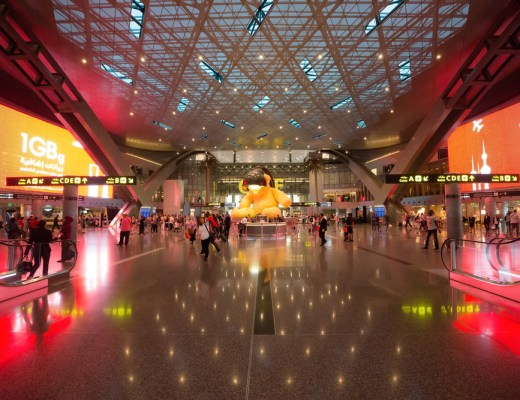 Qatar's Hamad International Airport just got its very own theme song