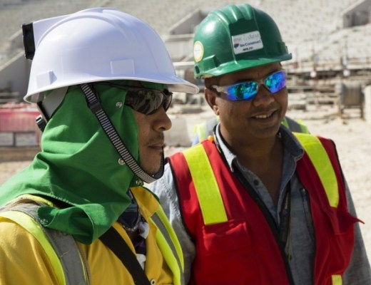 High-Tech Helmets For 2022 World Cup Workers