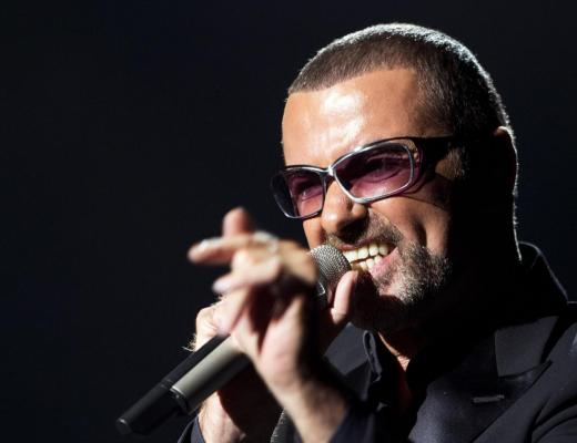 Singer George Michael on stage during a charity gala in 2012 AFP-Getty Images