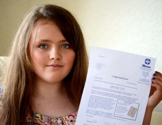 12-Year-Old Nicole Barr Has Higher IQ Than Einstein