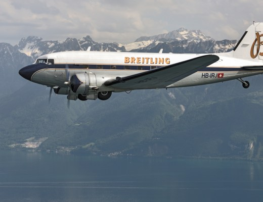 The Breitling DC-3 World Tour arrives in Doha